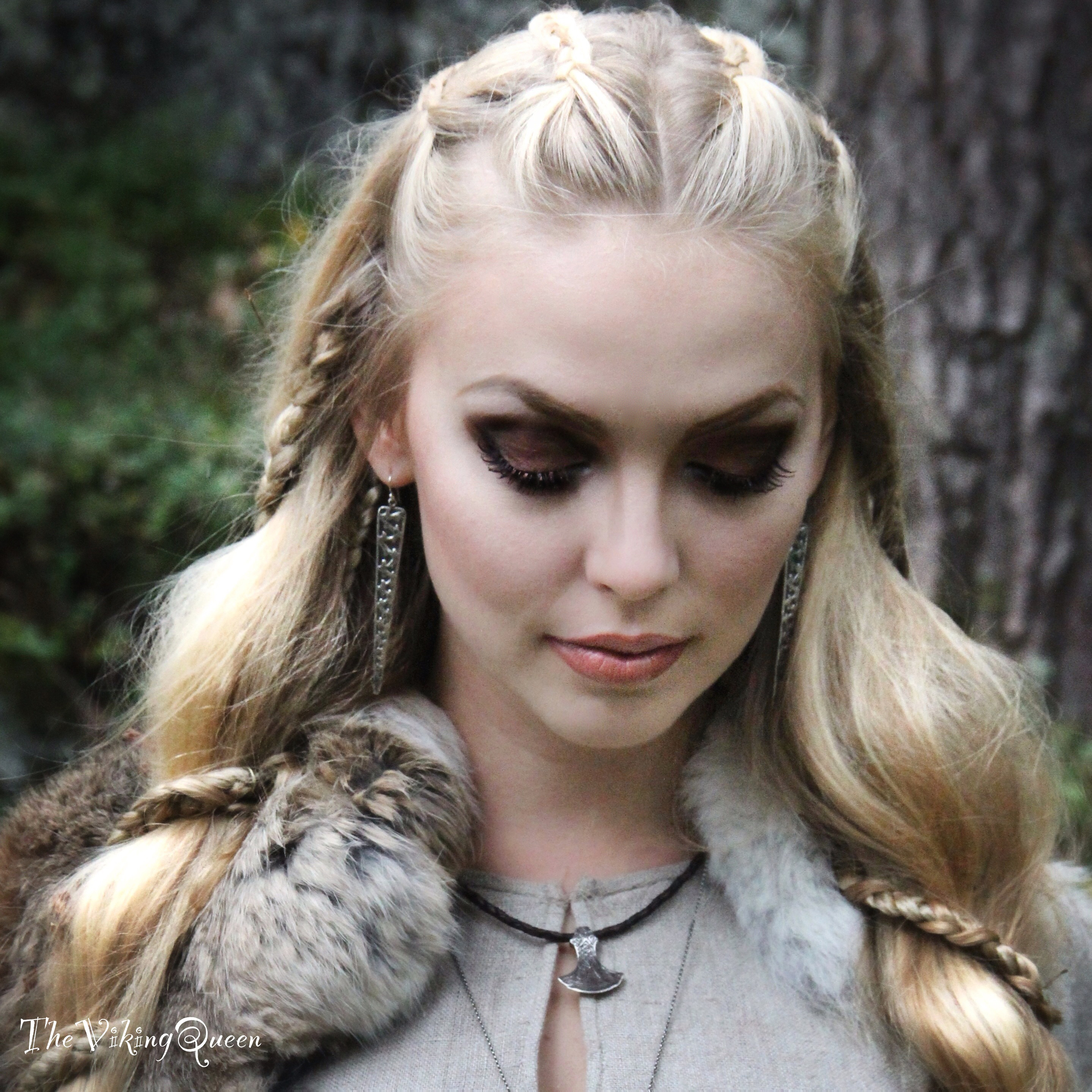 Viking Women Makeup