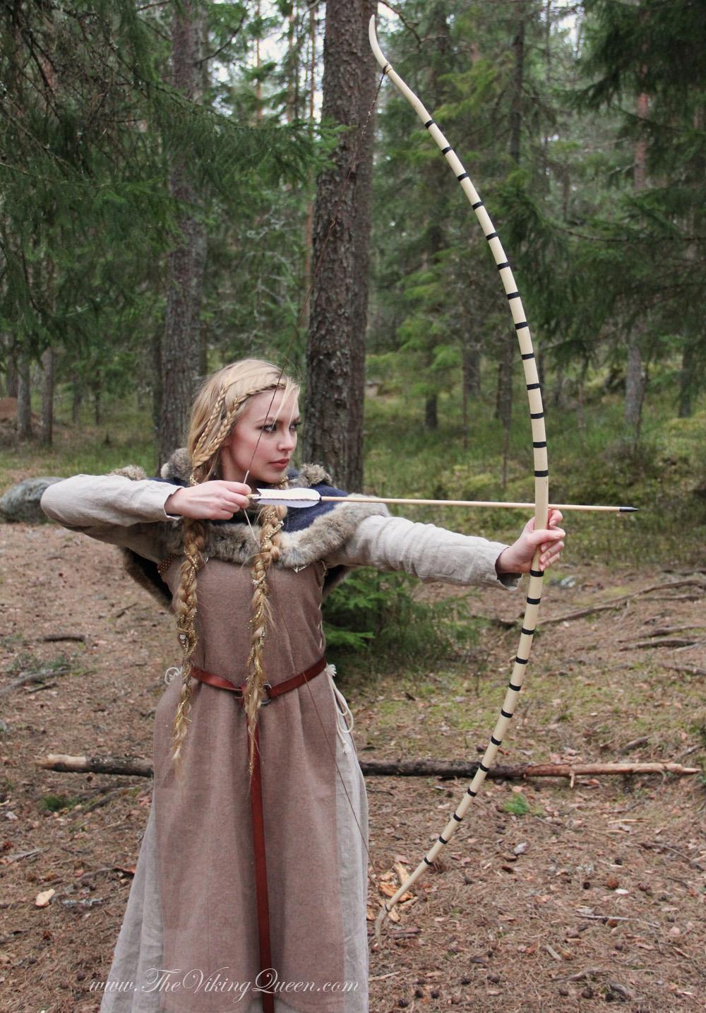 Hazel Viking Bow Thevikingqueen